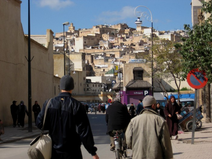 Once more into the medina...