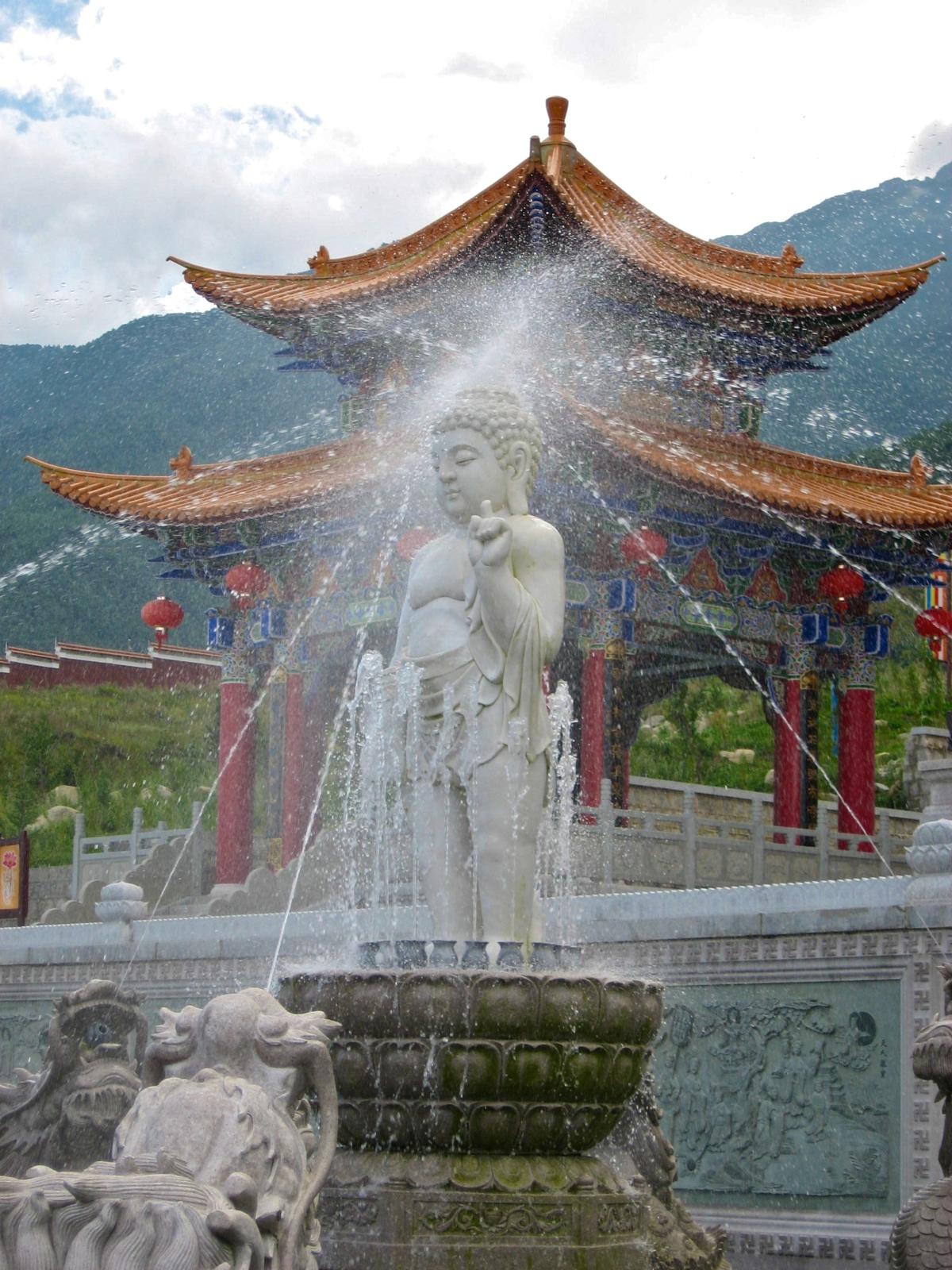 Temples in Dali