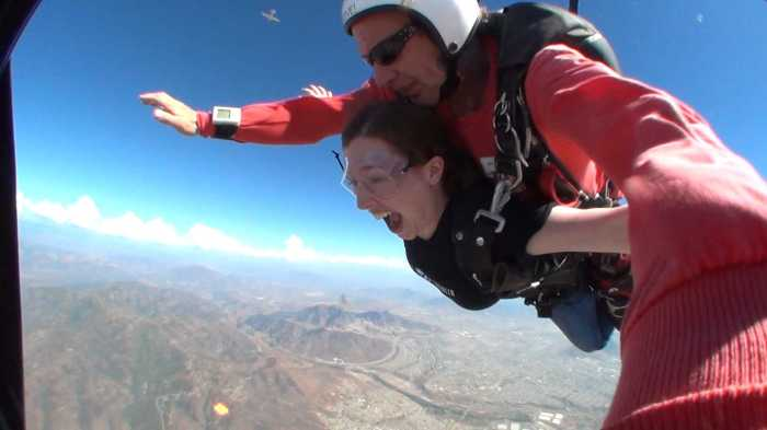 Skydiving!