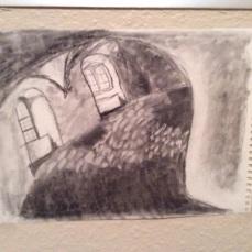 Hallway (charcoal)