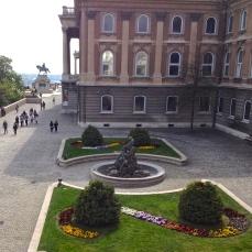 castle courtyard