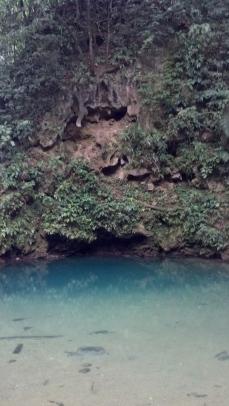 Blue Hole, abandoned