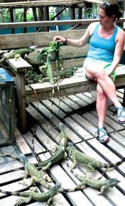 E with iguanas