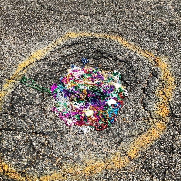 Pothole out front
