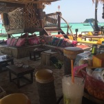 Interior, beach bar
