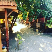 Porches of our bungalows